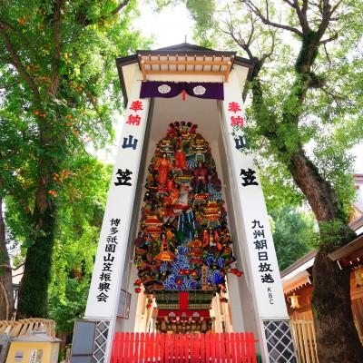 櫛田神社の飾り山笠